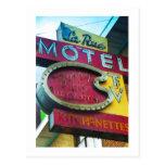 Colfax Avenue Aurora Colorado La Rue Motel Postcard