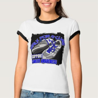 Colon Cancer Walk For A Cure Shoes shirt