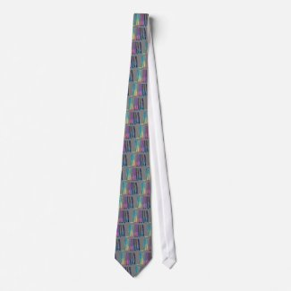 Color Band Waterfall CricketDiane Designer Stuff tie
