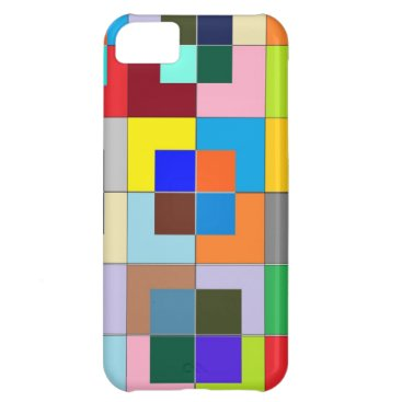 COLOR Maze : Happy Graphics iPhone 5C Cover