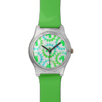 Color Me Green Unicorn watch