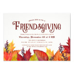 Color of Autumn | Friendsgiving Dinner Party Invitation