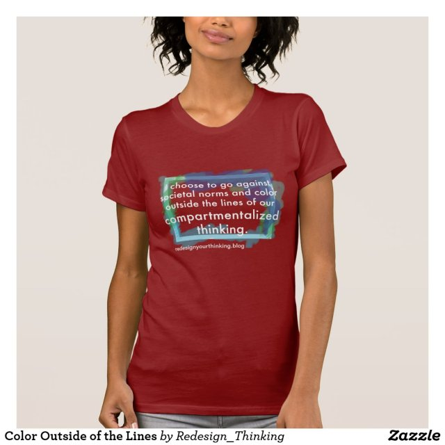Color Outside of the Lines T-Shirt