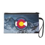 Colorado Circular Flag Wristlet Purse