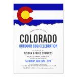 Colorado Themed BBQ Post Wedding Invitation