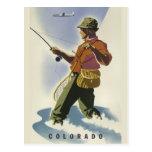 Colorado USA vintage travel postcard