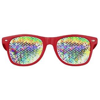 Colored ice wayfarer sunglasses