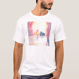 Colorful Cats on a Sunny Sofa T-Shirt