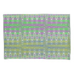 Colorful Pastel Zigzag Pattern Pillowcase