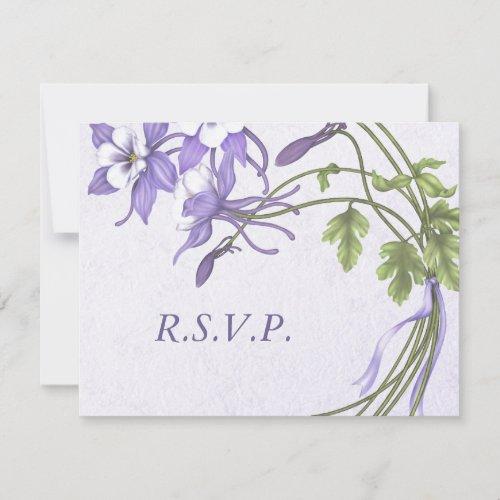 Columbine Bouquet 1 RSVP Cards