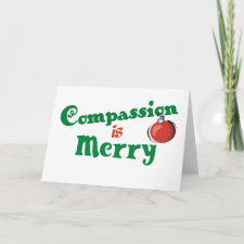 Compassion is Merry card