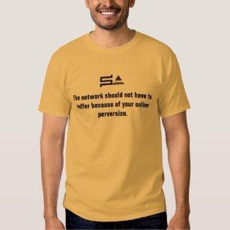 computer sysadmin logo t-shirt network