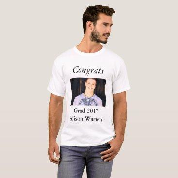 Congrats Grad Celebration Photo T-Shirt