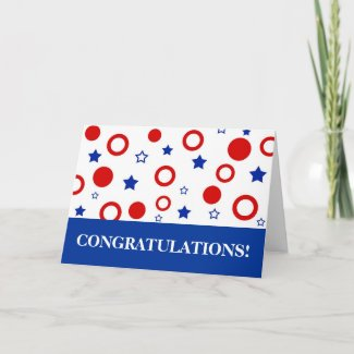 CONGRATULATIONS! - Card