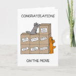 Congratulations on New Home Cute Cats Card
