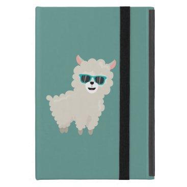 Cool Alpaca with Sunglasses Case For iPad Mini