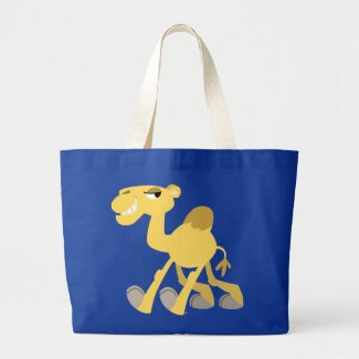 Cool and Cute Cartoon Camel Bag bag