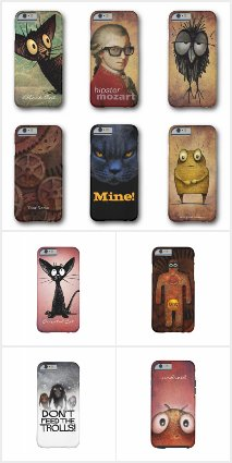 Cool Custom Funny iPhone 6 and 6S Phone Cases