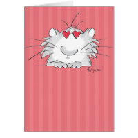 COOL KITTY Valentines by Boynton Card