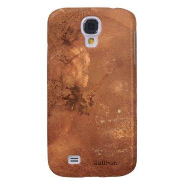 Copper background galaxy s4 case
