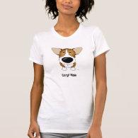 Corgi Mom T Shirts