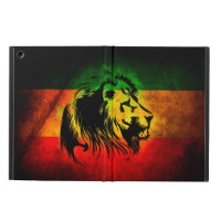 Cori Reith Rasta reggae lion iPad Air Cover