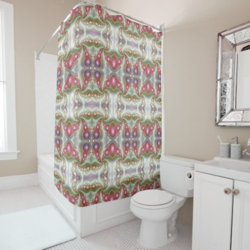 Cosmic Colors Shower Curtain