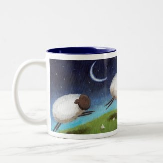 Counting Sheep Mug mug