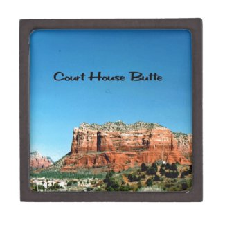 Court House Butte Premium Jewelry Boxes