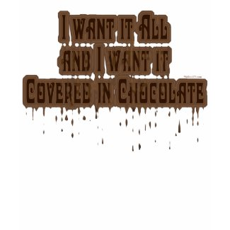 Covered in Chocolate K shirt