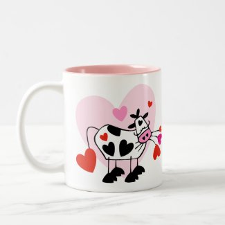 Cow Hearts Coffee Mugs