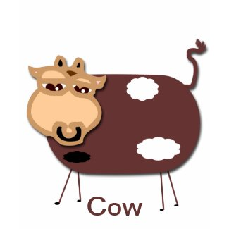 Cow zazzle_shirt