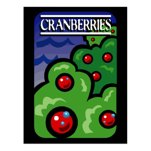 Cranberries Postcard