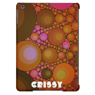 Crazy Abstract iPad Air Cases