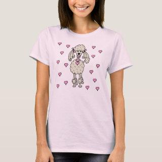 Cream Poodle Shirt