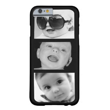 Create-Your-Own 3 Photo Upload iPhone 6 Slim Case
