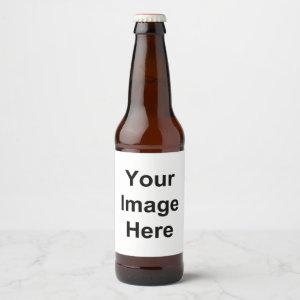 Create Your Own Beer Beer Bottle Label