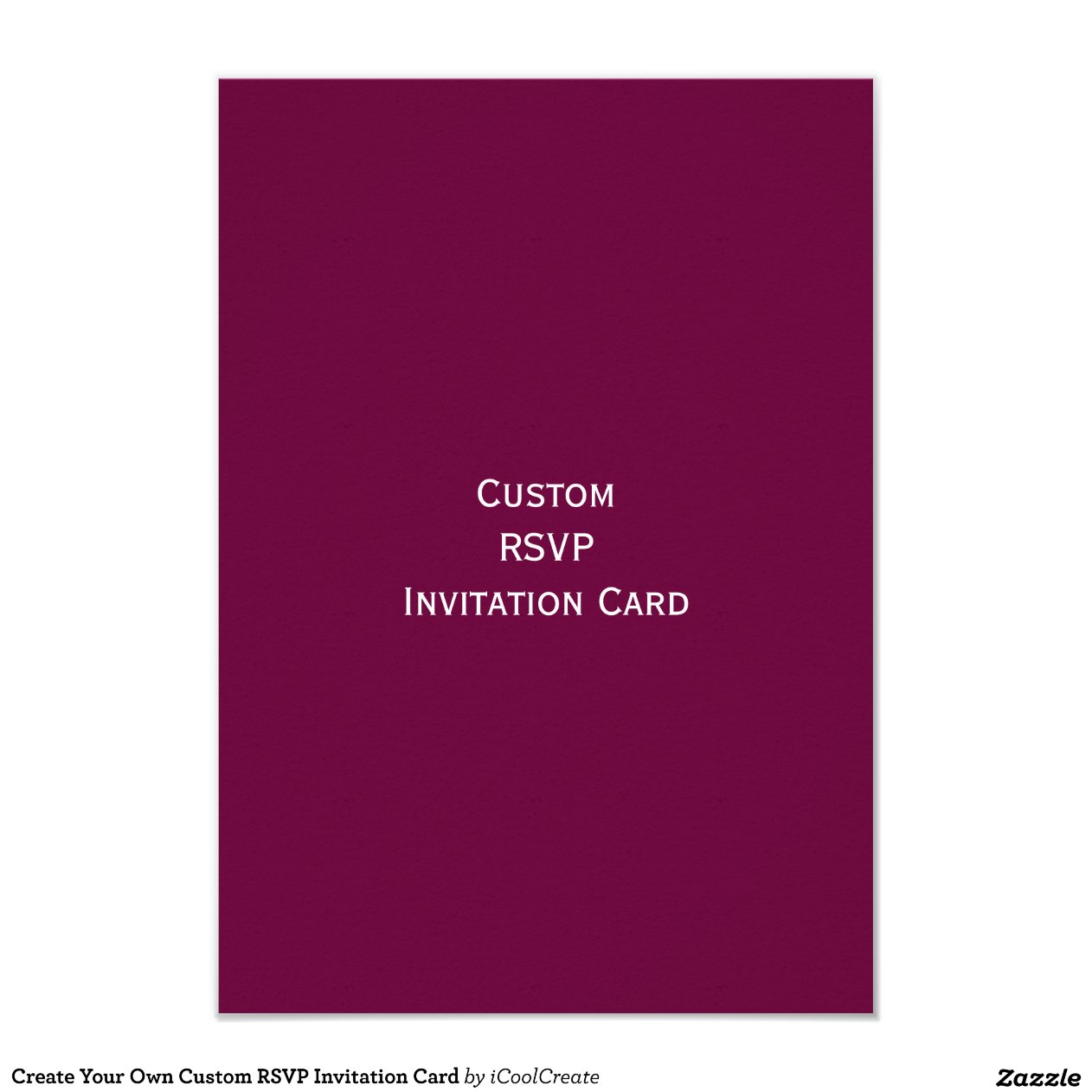 Create Your Own Invitation Cards