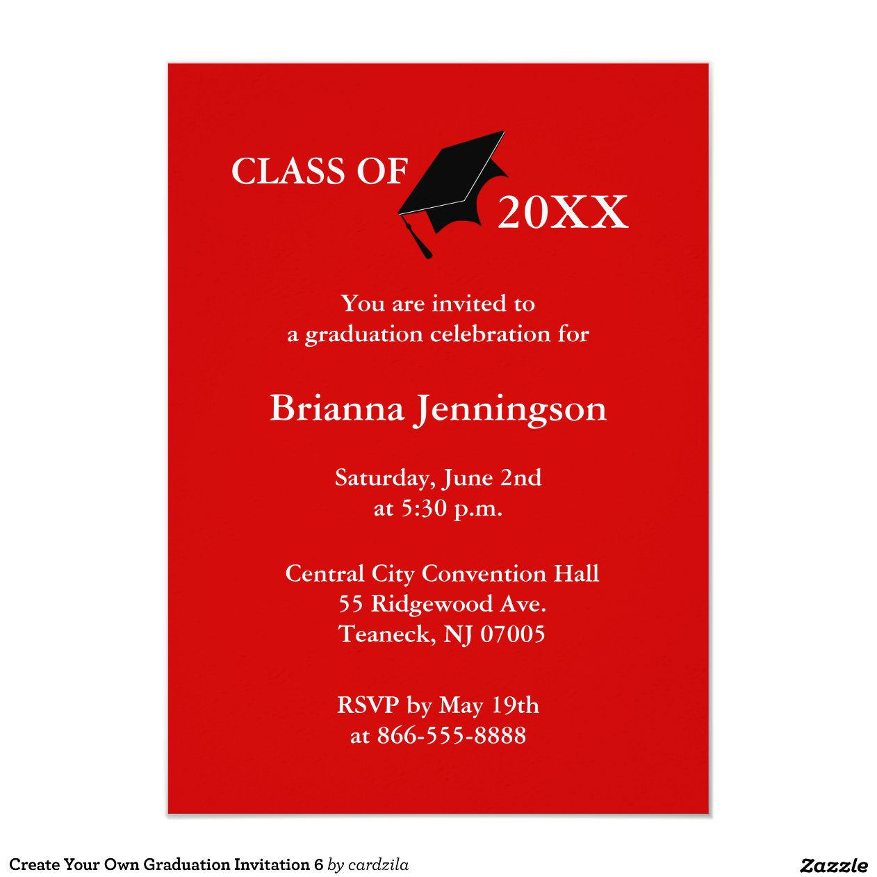 How Make Your Own Graduation Invitations