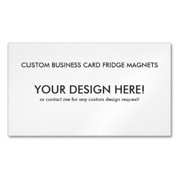 Create your own Magnetic Business Cards