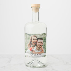 Create Your Own Photo Image Liquor Bottle Label