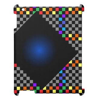 CricketDiane iPad Case Bold Checkered Colorblock