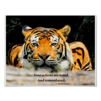 Crouching Tiger inspirational poster
