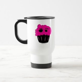 Cupcake Pirate To Go mug