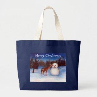 Curiosity Christmas Bag bag