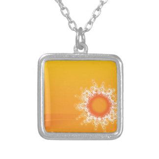 Curly Sunshine Customizable Design Personalized Necklace