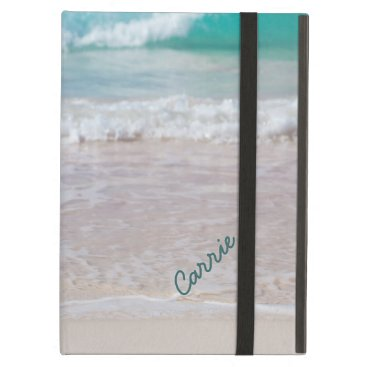 Custom Beach Photo iPad Air Case With Stand