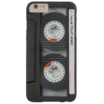 Custom Cassette Mixtape Barely There iPhone 6 Plus Case