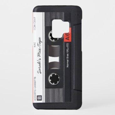 Custom Cassette Tape Case-Mate Samsung Galaxy S9 Case