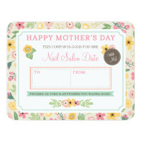Custom Mother's Day Gift Coupon by Origami Prints 4.25